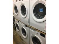 Washing machine 7kg-10kg new graded 12 month gtee