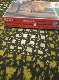 Arrow Games LTD 500 piece jigsaw puzzle