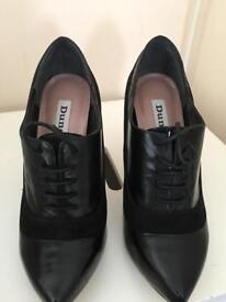 Dune black shoes