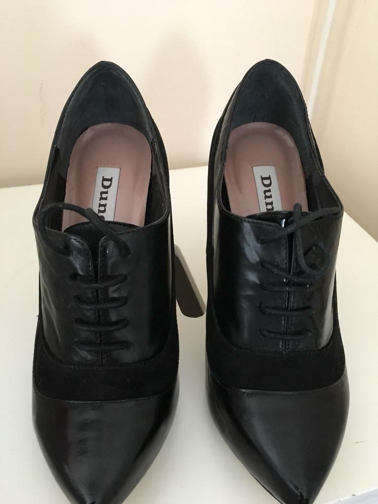 Dune black shoes