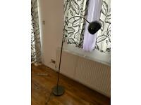 Argos Home Curva Floor Lamp - Dark Chrome (£20)