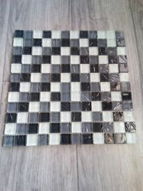 Brand new in boxes. 10 boxes of 10 sheets mosaic tiles in each box (100 tiles)