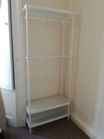 Open Storage Wardrobe