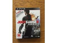 Just Cause 2 Limited Edition. PS3