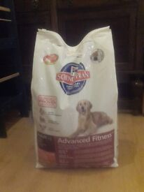 12kg bag dry dog food - Hills Science Plan, lamb with rice