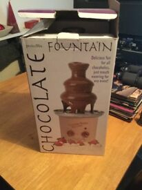 Chocolate fountain - as new - still in box
