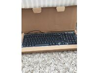 HP keyboard and mouse new