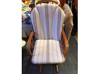 Working Wooden Rocking Chair