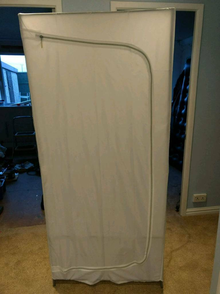 Ikea Canvas Wardrobe