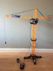 Toy crane - battery operated