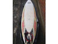 "Bic Surfboard with Nucleus Board Bag 6'7"" Tri-Fin Ocean Earth Leash"