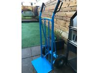 Heavy duty hand sack truck/cart with wheels