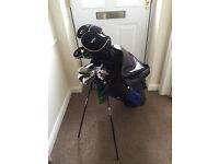 Golden Bear Golf Clubs, Putter, Golf Balls and Bag