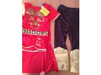 BOYS ROMAN SOLDIER KIDS FANCY DRESS CUSTOM 7-9 yr