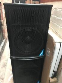 Beyma Loaded Martin Mach M154 Speakers
