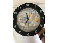 Vintage Wesco Homer Simpson Wall Clock
