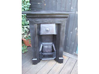 RECLAIMED FIRE PLACE, EXCELLENT CONDITION, READY TO FIT