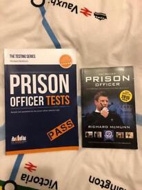 Prison Officer books/test (New)