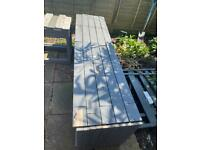 ** FREE WOOD ** outdoor seating / wood to be reused
