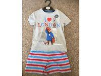 Brand New M&S with tags 18-24 months Paddington Bear pyjamas
