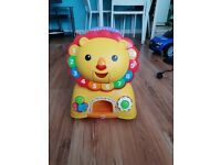 Lion light up ride on and walker