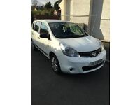 Very Low Milage Nissan Note 1.4l Petrol (2009). Perfect running car. 2 Owners from new.