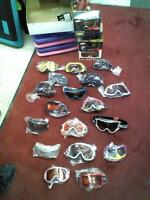 SKI GOGGLES - NEW & USED