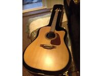 Takamine TAN10CR electro acoustic guitar, 2016 Ltd edition, cool tube pre-amp, superb condition