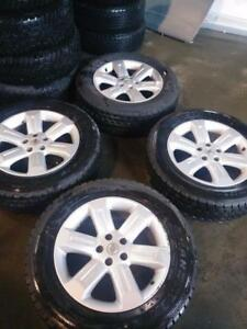 nissan Murano mags and winter tire
