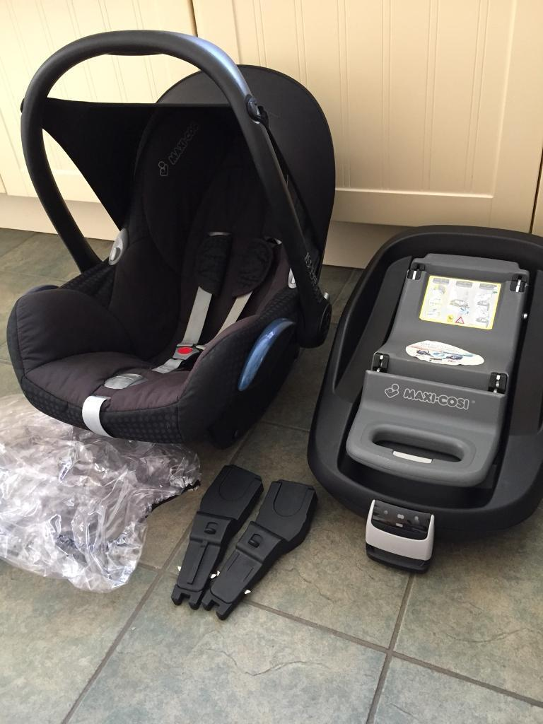 Maxi cosy car seat system and accessories