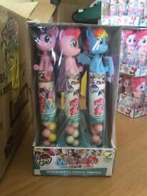 My little pony candy tube bobble head sweets party bag filler Favor toy prize gift job lot