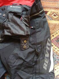 Rev'it slim fit waterproof motorbike trousers