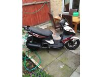 2013 facelift 125cc kymco super 8 moped scooter loads of extras