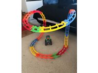 Tumble train track and train set fisher price