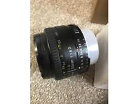 Nikkor 50mm f/1.8 Lens Nikkor 50mm f/1.8d Lens. Opened once never used. Buyer to collect.