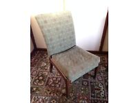 Vintage occasional chair for bedroom or living room ideal for recovering / upcycling