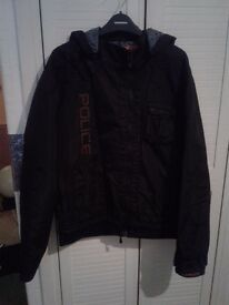 Gents police brand jacket