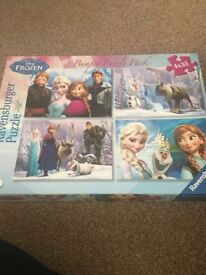 Disney Frozen Puzzle Pack Ages 3+