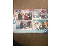 Disney Frozen Puzzle Pack Ages 3+