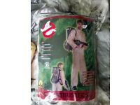 Adult and Dog Ghostbusters Costumes