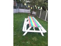 Garden picnic bench x 2