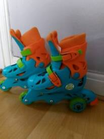 Kids adjustable skates size 9J-12J