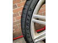 2 tyres for sale.