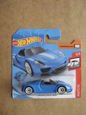 Hot Wheels Ford Porsche 918 Spyder in blue from the Porsche series in mind
