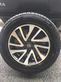 Nissan Navara Wheels & Tyres x4
