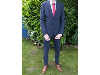 Two piece suit. Worn once by my son at his prom last year but now too small. Immaculate condition.
