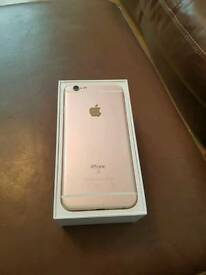 Iphone 6s, pink, broke screen and boxed