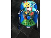 Baby Einstein bouncy and rocking chair