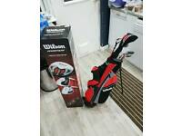 Wilson Prostaff junior golf set