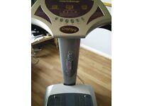 Crazy Fit Massage Fusion Vibration plate exerciser machine